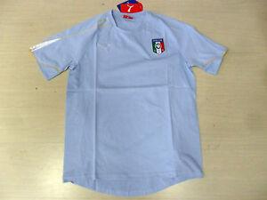 0741 Size XL Italy T-Shirt Cotton Celeste Sky Jersey Tee