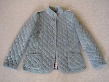 NR Aquascutum Ladies Cotton Velvet Texture Quilted Teal (Blue/Green) Jacket M