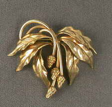 Winard Gold Filled Berry Brooch Pin