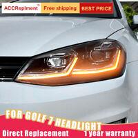 Für Golf 7 Facelift Kopf Lampen für Golf 7,5 Halogen Scheinwerfer Upgrade Xenon