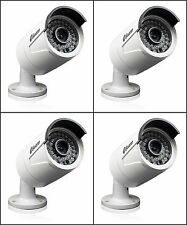 New Swann SRNHD-815WB4-US NHD-815 3MP HD Security Camera w Night Vision 4 PACK