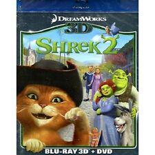 BLU RAY + DVD  Shrek 2   3 D -   (MUI)