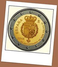 2 Euro Gedenkmünze Spanien 2018- 50. Geburtstag von König Felipe VI