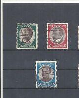 Deutsches Reich, 1934 Michelnummer: 540 - 543 o, gestempelt o, Michelwert € 38