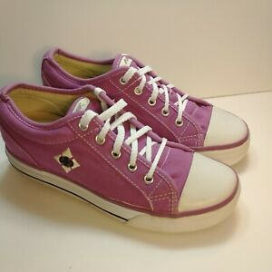 Heelys Girls Chazz Roller Skate Shoes Purple 7578 Lace Up Low Top YTH 4 W 5