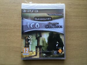 Ico & Shadow Of The Colossus Classics HD PlayStation 3 Game PS3 New  Sealed Pal