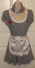 SS4U Desperate House Wife Maid Dress Apron Kercheif Spoon Costume SM