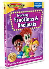 ROCK n LEARN - Beginning Fractions and Decimals - Award Winning Educational DVD