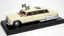 True Scale 1/43 1975 Mercedes 600 Pullman King Hussein of Jordan 144341