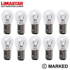 10 x 334 294 OEM Bulbs 24v 21/5w P21/5W HGV Auto Truck Bulb Stop Tail BAY15D