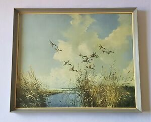 BEAUTIFUL VINTAGE C1960'S VERNON WARD PRINT IN ORIGINAL FRAME - A.L. FRITH