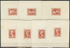 #O15P1 // #O22P1 DIE PROOFS ON INDIA ON CARD SHORT SET CV $560 BS5003