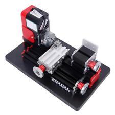 Portable Mini Metal Lathe Metalworking Woodworking Power Tool Turning Machine