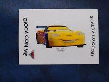 Adesivo Figurina Disney Pixar Esselunga Cars 2 Jeff Gorvette Rarissimo
