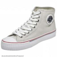 PF Flyers Center Hi Reiss PM09CH1G Natural Canvas Men Shoes