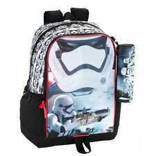 Star Wars Backpack Rucksack Force Awakens Pencil Case 44cm Travel School Bag