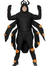 SPIDER COSTUME, HALLOWEEN ADULT FANCY DRESS, ONE SIZE, MENS
