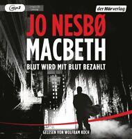 MACBETH-BLUT WIRD MIT BLUT BEZAHLT - KOCH,WOLFRAM  2 MP3 CD NEW