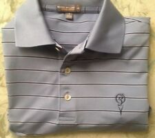 Peter Millar Small Summer Comfort Dry Stretch Short Sleeve Striped Polo Shirt