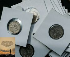 More details for 1960's gb sixpence coin lot, elizabeth ii, 22 coins . the lucky  silver* coin