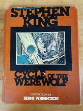 Stephen King Cycle of the Werewolf Hardcover HC