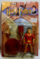 Harry Potter Quidditch Harry 5'' Action Figure Set w/ Suction Cup Mosc Sealed