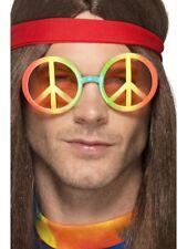 Hippie occhiali donna uomo Multicolore Hippy Accessorio Vestito