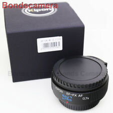 Kipon Baveyes Auto Focus 0.7x Reducer Adapter Canon EOS EF to Fujifilm FX X-Pro2