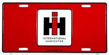 "International Harvester Truck Red 6"" x 12"" Embossed Metal License Plate - SALE"
