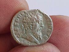 EXTREMELY RARE MINT ANCIENT ROMAN SILVER DENARIUS COIN SEPTIMUS.2,8 GR.16 MM