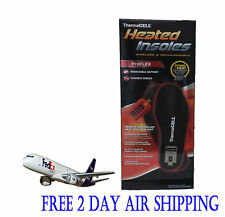 Thermacell ProFlex HW20-XL Rechargeable Heated Insoles With Remote XL