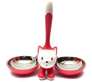 Alessi Tigrito Ciotola per gatti Rosso scuro Disponibile subito
