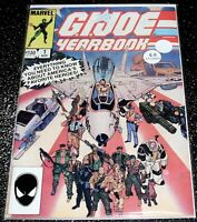 G.I Joe Yearbook 1B (6.0) 1st Print Marvel Comics