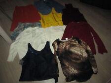 lot 5 de 10 vêtements femmes taille 42/44 cause trop petits