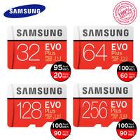 Samsung EVO Plus 32GB 64GB 128GB Class10 TF 4K MicroSDHC XC Memory Card f. phone