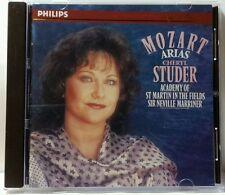 Mozart: Arias / Studer, Marriner, ASMF by Cheryl Studer (4/91, Philips) (cd2362)