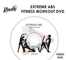 EXTREME ABS - FITNESS WORKOUT DVD - CORE TRAINING WEIGHT & FAT LOSS