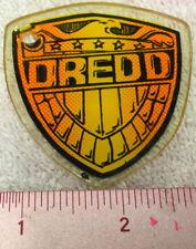 Genuine Judge Dredd Pinball Game Promo Plastic Key Chain Shield Fob Bally     A7