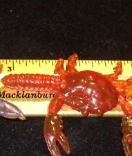 50 3D SOFT PLASTIC CRAB SURF FISHING SALTWATER LURE TACKLE ACCESSORY