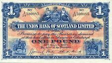 Scotland Union Bank P-S815 1 pound 1936