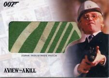 THE COMPLETE JAMES BOND ZORIN INDUSTRIES PATCH IN A VIEW TO A KILL