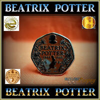 BEATRIX POTTER COIN PETER & FRIENDS COLOUR 12 PICK 50p FIFTY PENCE GREAT BRITAIN