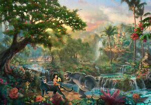 Disney Jungle Book Painting Children Cartoon Film Wall Art Poster/Canvas Picture