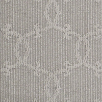 Your World Lady In Grey 39 oz Super Soft Berber Pattern Indoor Area Rug