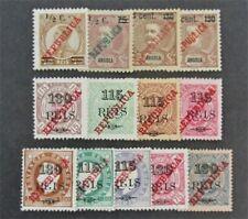 nystamps Portugal Angola Stamp # 208//225 Mint OG H $35