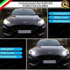 CONVERSIONE FARI FULL LED FORD FOCUS MK4 14400 LUMEN LED CANBUS BIANCO