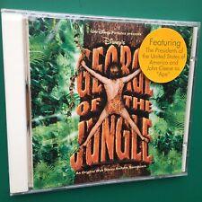 GEORGE OF THE JUNGLE Film Soundtrack OST CD Marc Shaiman Disney Brendan Fraser