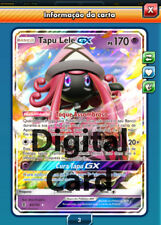 1x Tapu Lele GX Pokemon TCG Online PTCGO ! Sent Almost Instant !! Digital Card !