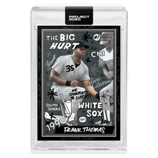 Topps PROJECT 2020 Card 268 1990 Frank Thomas by Sophia Chang Chicago White Sox