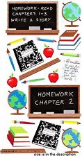 EK SUCCESS STICKO STICKERS-SCHOOL UNI teacher homework-Classroom